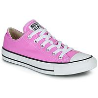 鞋子 女士 球鞋基本款 Converse 匡威 CHUCK TAYLOR ALL STAR SEASONAL COLOR 玫瑰色