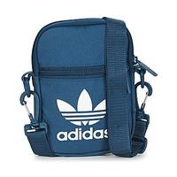 包 小挎包 Adidas Originals 阿迪达斯三叶草 FEST BAG TREF 蓝色 / 海蓝色 / Nuit