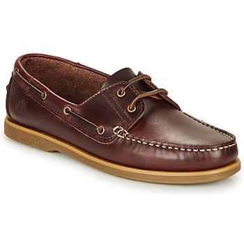 鞋子 男士 船鞋 Lumberjack NAVIGATOR 棕色