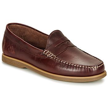 鞋子 男士 皮便鞋 Lumberjack NAVIGATOR 棕色