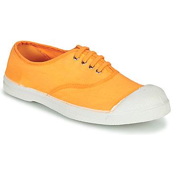 鞋子 女士 球鞋基本款 Bensimon TENNIS LACET 橙色