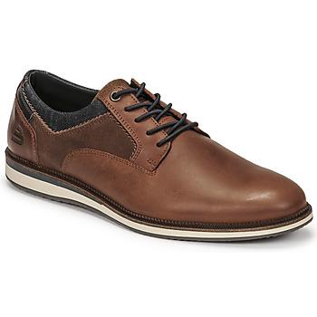 鞋子 男士 德比 Bullboxer THOMAS 棕色