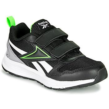 鞋子 男孩 跑鞋 Reebok 锐步 REEBOK ALMOTIO 5.0 黑色 / 绿色