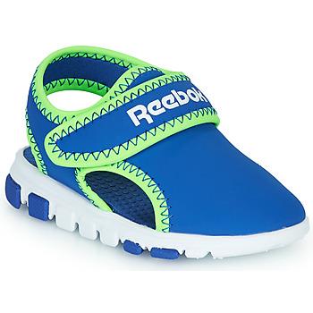 鞋子 男孩 凉鞋 Reebok 锐步 WAVE GLIDER III 蓝色 / 绿色