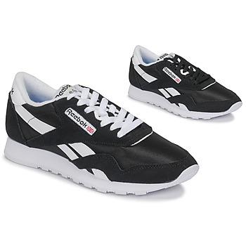 鞋子 球鞋基本款 Reebok Classic CL NYLON 海蓝色