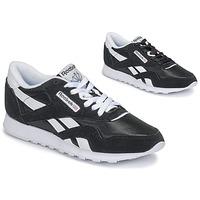 鞋子 女士 球鞋基本款 Reebok Classic CL NYLON 黑色