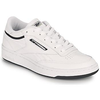 鞋子 球鞋基本款 Reebok Classic CLUB C REVENGE MU 白色