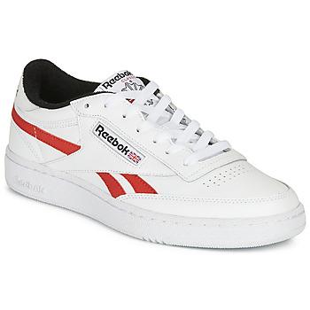 鞋子 球鞋基本款 Reebok Classic CLUB C REVENGE MU 白色 / 红色