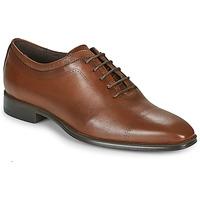 鞋子 男士 系带短筒靴 Carlington 卡尔顿 MINEA 棕色
