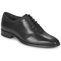 鞋子 男士 系带短筒靴 Carlington 卡尔顿 MINEA 黑色