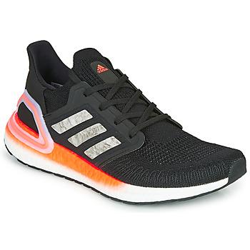 鞋子 男士 跑鞋 adidas Performance 阿迪达斯运动训练 ULTRABOOST 20 黑色 / 灰色