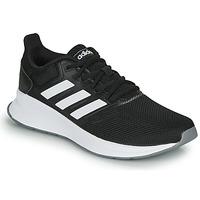 鞋子 女士 跑鞋 adidas Performance 阿迪达斯运动训练 RUNFALCON 黑色 / 白色
