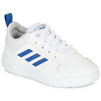 鞋子 男孩 球鞋基本款 adidas Performance 阿迪达斯运动训练 TENSAUR K 白色 / 蓝色