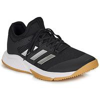 鞋子 网球 adidas Performance 阿迪达斯运动训练 COURT TEAM BOUNCE M 黑色 / 白色