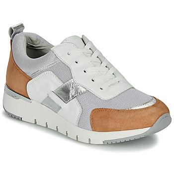 鞋子 女士 球鞋基本款 Caprice BEBENE 白色 / 驼色