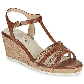 鞋子 女士 凉鞋 Caprice POUDALLE 棕色