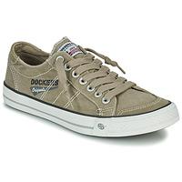鞋子 男士 球鞋基本款 Dockers by Gerli 30ST027-450 卡其色