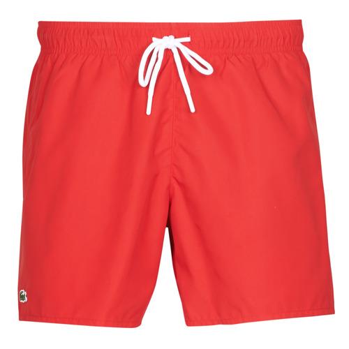 衣服 男士 男士泳裤 Lacoste JEANNAH 红色