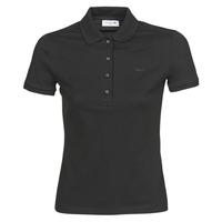 衣服 女士 短袖保罗衫 Lacoste PH5462 SLIM 黑色