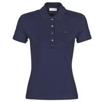 衣服 女士 短袖保罗衫 Lacoste PH5462 SLIM 海蓝色