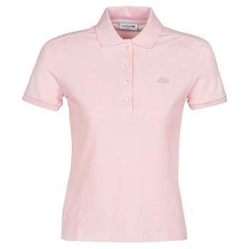 衣服 女士 短袖保罗衫 Lacoste PH5462 SLIM 玫瑰色