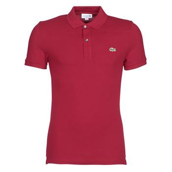 衣服 男士 短袖保罗衫 Lacoste PH4012 SLIM 波尔多红