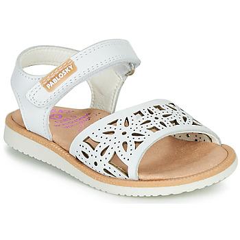 鞋子 女孩 涼鞋 Pablosky  白色