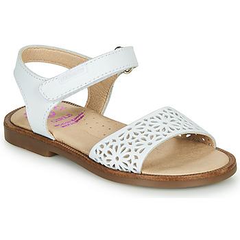 鞋子 女孩 凉鞋 Pablosky  白色