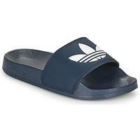 鞋子 拖鞋 Adidas Originals 阿迪達斯三葉草 ADILETTE LITE 藍色