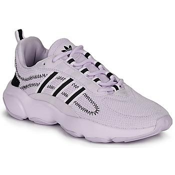 鞋子 女士 球鞋基本款 Adidas Originals 阿迪达斯三叶草 HAIWEE W 淡紫色
