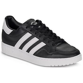 鞋子 球鞋基本款 Adidas Originals 阿迪达斯三叶草 MODERN 80 EUR COURT 黑色 / 白色