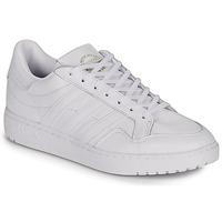 鞋子 球鞋基本款 Adidas Originals 阿迪达斯三叶草 MODERN 80 EUR COURT 白色