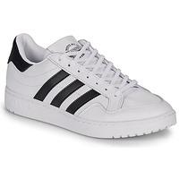 鞋子 球鞋基本款 Adidas Originals 阿迪达斯三叶草 MODERN 80 EUR COURT 白色 / 黑色