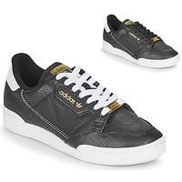 鞋子 女士 球鞋基本款 Adidas Originals 阿迪达斯三叶草 CONTINENTAL 80 黑色