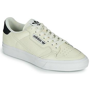 鞋子 球鞋基本款 Adidas Originals 阿迪达斯三叶草 CONTINENTAL VULC 米色