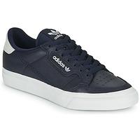 鞋子 球鞋基本款 Adidas Originals 阿迪达斯三叶草 CONTINENTAL VULC 蓝色