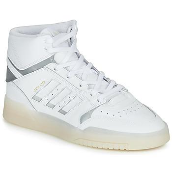 鞋子 男士 高帮鞋 Adidas Originals 阿迪达斯三叶草 DROP STEP 白色