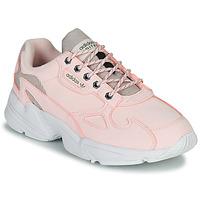 鞋子 女士 球鞋基本款 Adidas Originals 阿迪達斯三葉草 FALCON W 玫瑰色