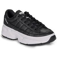 鞋子 女士 球鞋基本款 Adidas Originals 阿迪达斯三叶草 KIELLOR W 黑色