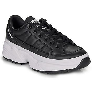 鞋子 女士 球鞋基本款 Adidas Originals 阿迪達斯三葉草 KIELLOR W 黑色