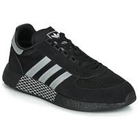 鞋子 球鞋基本款 Adidas Originals 阿迪达斯三叶草 MARATHON TECH 黑色 / 白色