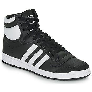 鞋子 高帮鞋 Adidas Originals 阿迪达斯三叶草 TOP TEN HI 黑色