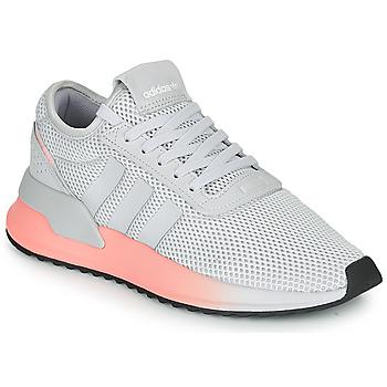 鞋子 女士 球鞋基本款 Adidas Originals 阿迪达斯三叶草 U_PATH X W 灰色 / 玫瑰色