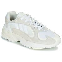 鞋子 男士 球鞋基本款 Adidas Originals 阿迪达斯三叶草 YUNG 1 白色