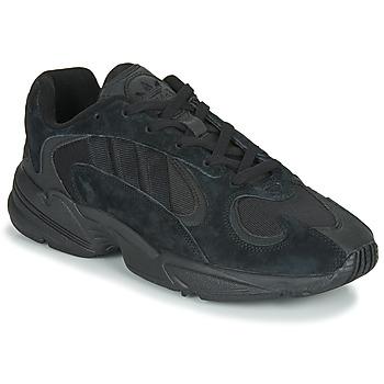 鞋子 男士 球鞋基本款 Adidas Originals 阿迪达斯三叶草 YUNG 1 黑色