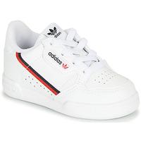 鞋子 儿童 球鞋基本款 Adidas Originals 阿迪达斯三叶草 CONTINENTAL 80 I 白色