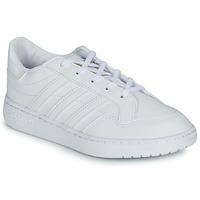 鞋子 儿童 球鞋基本款 Adidas Originals 阿迪达斯三叶草 Novice C 白色