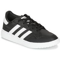 鞋子 儿童 球鞋基本款 Adidas Originals 阿迪达斯三叶草 Novice C 黑色 / 白色