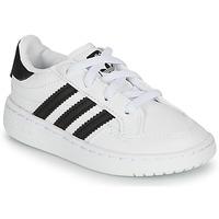 鞋子 兒童 球鞋基本款 Adidas Originals 阿迪達斯三葉草 NOVICE EL I 白色 / 黑色