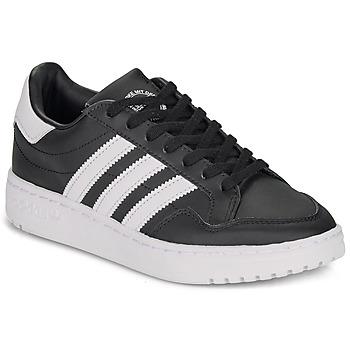 鞋子 儿童 球鞋基本款 Adidas Originals 阿迪达斯三叶草 Novice J 黑色 / 白色